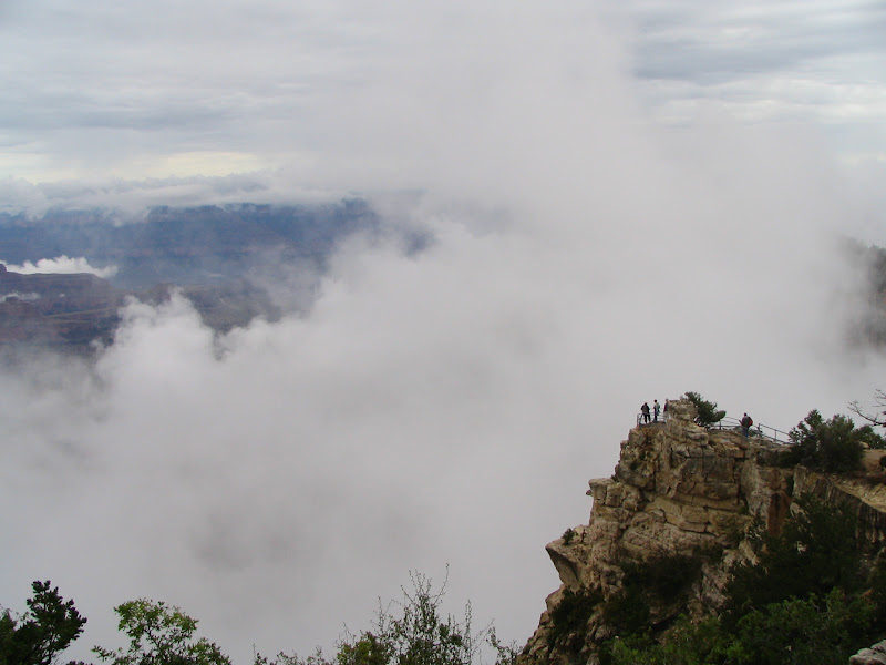Grand Canyon from the North Rim, with clouds